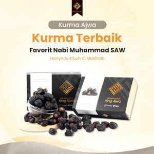 Kurma KING AJWA Premium Dates Al-Madinah Original King Salman