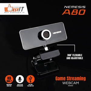 Webcam HD 960P NYK Nemesis A80 Night Hawk Streamer