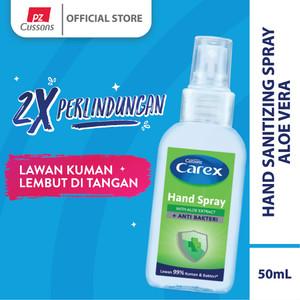 Carex Hand Spray Aloe Vera 50mL
