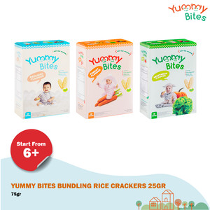 Yummy Bites Bundling Rice Crackers 25g