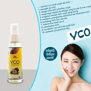 Skin Care Face Oil 100ml Spray VCO Minyak Kelapa Murni Anti Penuaan