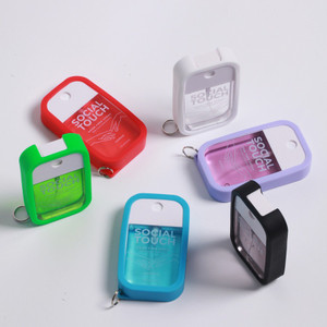 Pocket Hand Sanitizer Food Grade - Social Touch Germ Free Spray 45 mL