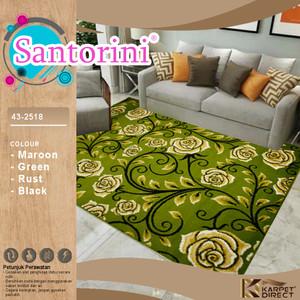 [Karpet Direct] Santorini Karpet 160x210 Cm (Bunga) – Kode 43-2518
