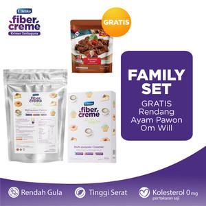 FiberCreme Family Set GRATIS Rendang Ayam Pawon Om Will