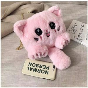 DS99 Tas Selempang boneka kucing bisa ransel slimbag pikacu bisa COD