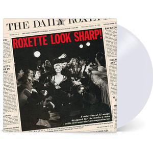 Roxette - Look Sharp! - Clear LP Vinyl Piringan Hitam PH