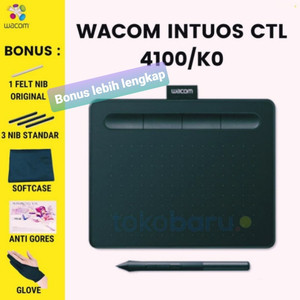 Wacom Intuos CTL4100 / CTL 4100 Drawing Tablet 4096 Pressure