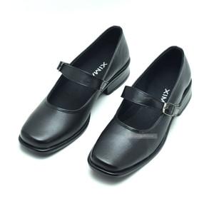 Sepatu Pantofel Paskibra Wanita Hak3cm Dinas Harian POLRI KOWAD KOWAL