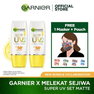 Garnier X Melekat Sejiwa - Super UV Set Matte