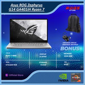 Laptop Asus ROG Zephyrus G14 GA401iH Ryzen 7 4800 8GB 512ssd GTX1650