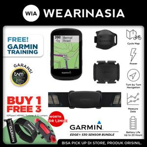 GPS Garmin Edge 530 Bundle Garansi Resmi TAM