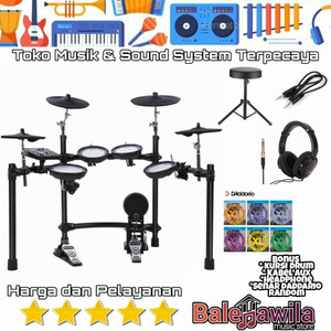 Drum Elektrik Electric Drum Set NUX DM7 Nux DM 7 Ori Garansi Resmi