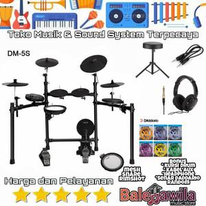 Electric Drum Elektrik NUX DM5 S DM5S DM 5 S Original 1 Set Kit