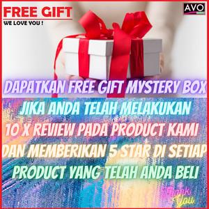 Free Gift untuk 10x Positive Review 5 star AVO GROSIR Loyalty Gift