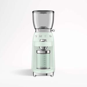 Smeg Coffee Grinder 50's Style Pastel Green | CGF01PGEU