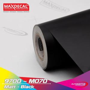 [METERAN] MAXDECAL 9700 M 070 Black Matt Doff Hitam 152cm Vinyl Wrap