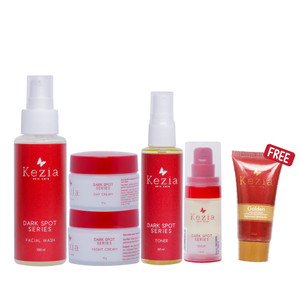 Kezia Skincare Darkspot Package Series Penghilang Flek Hitam