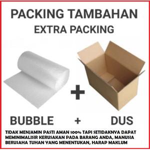 BUBBLE WRAP - Untuk keamanan Kiriman Barang /Safety Packing