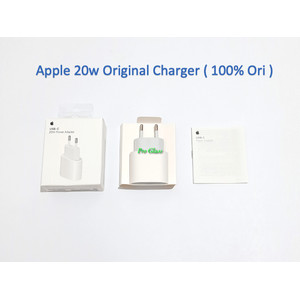 Apple USB-C 20W Power Adapter Charger PD Fast Charging 100% Original