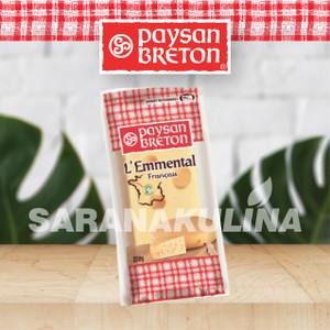 Paysan Breton Emmental Cheese 250gr (Pengiriman hanya Gojek/grab)
