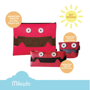 LANGUO MONSTER MOUTH A4 File Pouch LG-10854