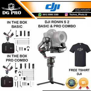DJI RONIN S 2 - S2 - RS2 - II BASIC & PRO COMBO GIMBAL STABILIZER