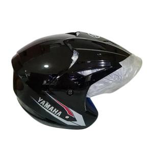 Yamaha ORI SNI Half Face Helm Helmet Half Face MX King Mio MURAH HITAM