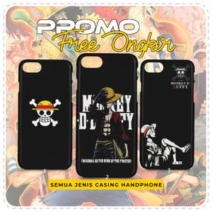 Case Anime One Piece Monkey D Luffy Custom Casing HP Hardcase Softcase