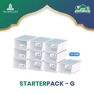 STARTERPACK RUMAH RAPI OLYMPLAST - PAKET G ( Include 10 pcs OSB)