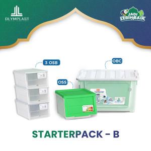 STARTERPACK RUMAH RAPI OLYMPLAST - PAKET B ( 1OBC, 1OSS & 3OSB)
