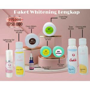 Paket Whitening series/ pencerah wajah/ kulit normal/ enkla series