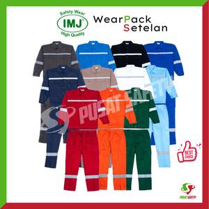 Wearpack Safety / Setelan Baju Celana Kerja IMJ