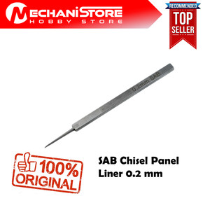 SAB Chisel Panel Liner 0.2mm - Alternatif BMC Chisel Tools Gundam