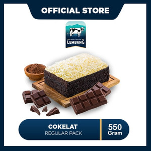 Bolu Susu Lembang Cokelat - Reguler Pack (550gr)