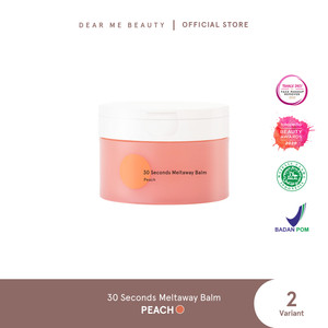 Dear Me Beauty 30 SECONDS MELTAWAY CLEANSING BALM - Peach