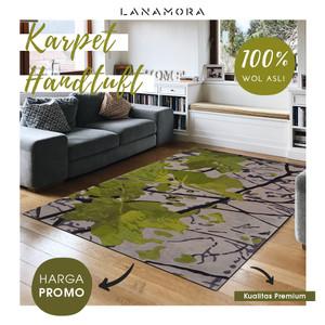 Karpet Handtuft Premium Wool Mewah Modern D033 200x300 cm
