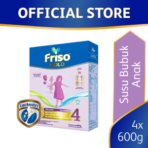Friso Gold 4 Susu Formula Pertumbuhan Batita 600g [4 pcs]