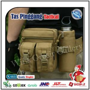 Tas Pinggang Tactical Waist Bag Travel / Outdoor Botol Minum Army