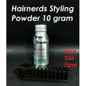 HAIRNERDS PROFESSIONAL 10 GR KEMASAN BARU FREESTYLE DUST HAIR POWDER
