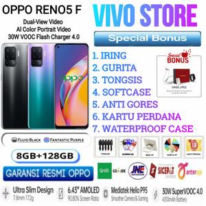 OPPO RENO 5F RAM 8/128 GB GARANSI RESMI OPPO INDONESIA