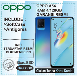OPPO A54 RAM 4/128GB   5000mAh BATTERY   GARANSI RESMI 1 TAHUN