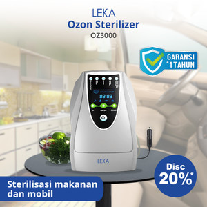 LEKA OZ3000 Food Sterilizer Ozone Fruit Vegetable Wash Cuci Buah Sayur