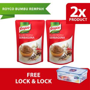 Royco Bumbu Rempah Serbaguna 525G Twinpack Free Lock & Lock