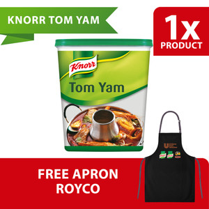 Knorr Bumbu Siap Pakai Tom Yam Tub 1.5Kg Free Apron