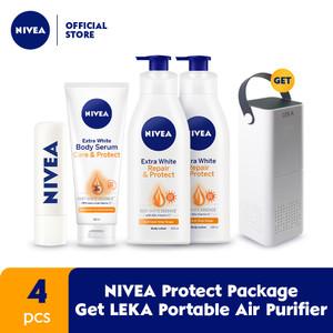 NIVEA Protect Package Get LEKA Portable Air Purifier