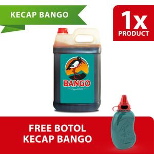 Bango Kecap Manis Jerigen 6.2Kg Free Botol Kecap Bulat