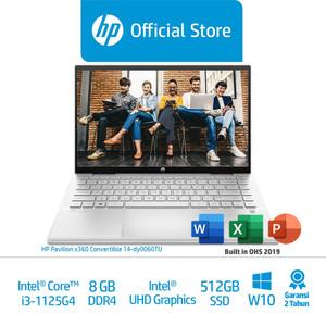 HP Pavx360 Conv14-dy0060TU & dy0061TU Laptop/Core i3/8GB/512GBSSD