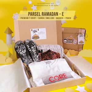 Parsel Ramadan E - Premium Tshirt + Sandal Swallow + Masker + Pouch