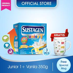 Sustagen Junior Vanila 350gx3 GRATIS Mug Spesial #GerakanBukaMulut