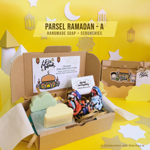 Parsel Ramadan A - Handmade Soap x darinya.id + Scrunchies   Hampers